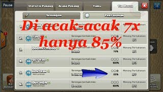 The strongest war base: Base war TH 9 terkuat (replay attact) Mei 2017 - tipe 47