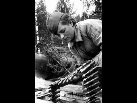 ЧЕРНЫЙ ВОРОН Фото Великой Отечественной войны Казачья песня исп ...
