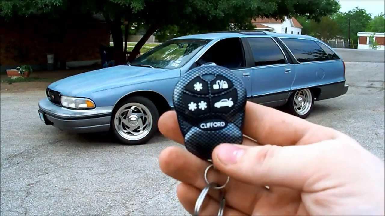 My First Car! 1991 Oldsmobile Custom Cruiser - YouTube