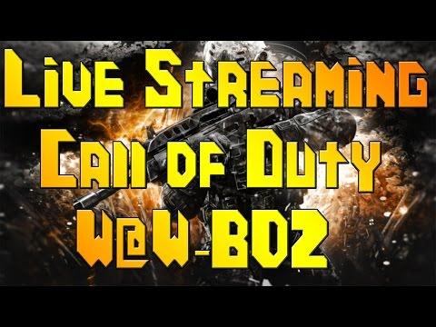 Call of Duty Live Stream! (W@W-BO2) Hang & Play W/ JFK!