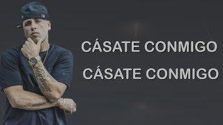 Cásate Conmigo - Silvestre Dangond Ft. Nicky Jam (Letra) ᴴᴰ