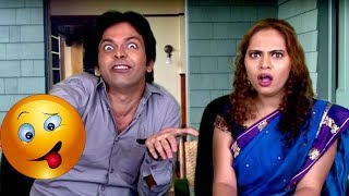 कौनतं बोध घेतलंय ? - Funny Husband - Wife Comedy | Marathi Latest Jokes