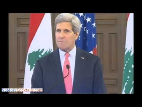 In Beirut, John Kerry says Lebanon's security is of paramount concern to the Obama Admin
