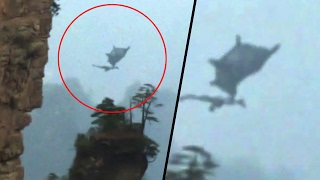 MYSTERIOUS FLYING DRAGON FILMED FROM CHINA | IS THAT REAL DRAGON? | REAL ALIEN CAUGHT ON CAMERA 2017