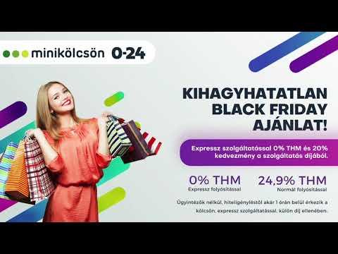 Minikolcson.hu - Ne hagyd ki a Black Friday lehetőségeit!