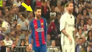Do You know what Messi did vs ? (Reaction Real Madrid vs Barcelona)
