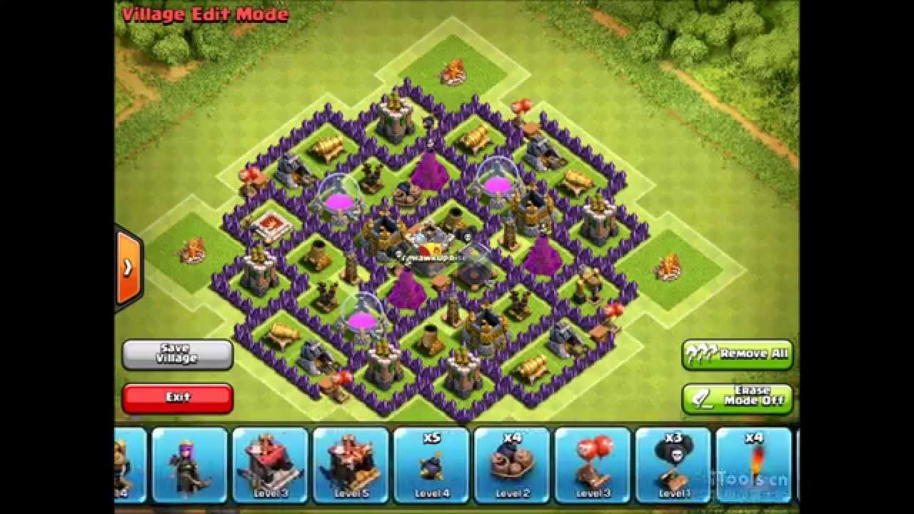 Clash Of Clans Lvl  Build