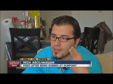 Pizza delivery driver fired after being robbed