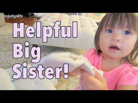 Helpful Big Sister! - July 28, 2014 - itsJudysLife Daily Vlog