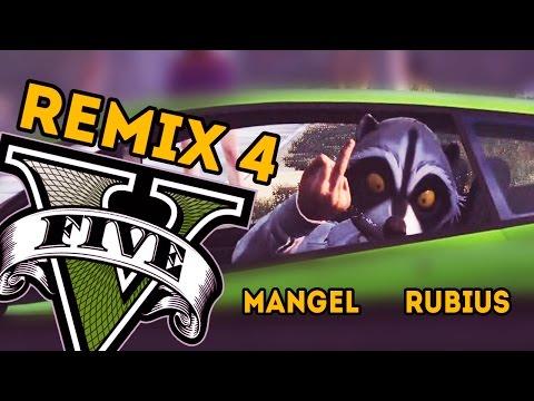 BAD BOYS - REMIX 4 GTA V ONLINE (Con rubius) - PS4