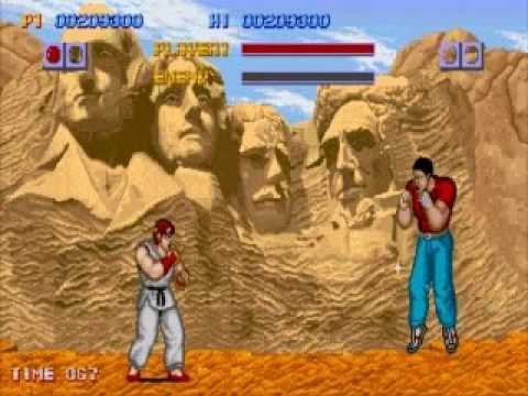 Street Fighter 1 Completed Part 1/2