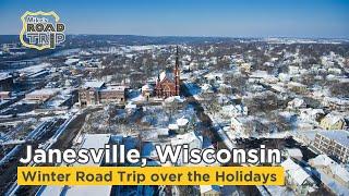 Janesville WI winter road trip