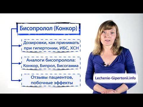 Лекарства от гипертонии: какие
