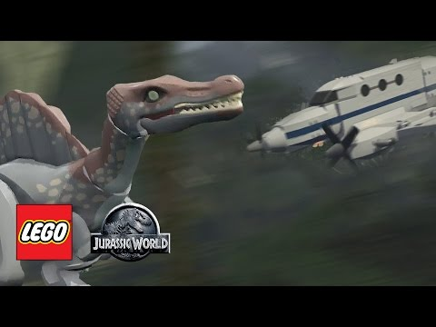 LEGO Jurassic World Jurassic Park All Cutscenes Movie