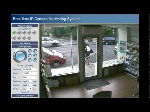 Foscam FI8910W IP Camera Live Video Recording Demo by GadgetFreakz.co.uk