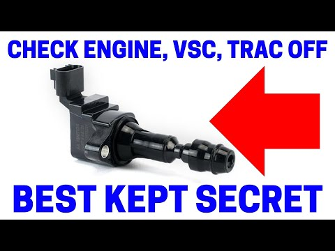 (Part 7) How To Fix Your Check Engine, VSC, Trac Off Warning Lights On