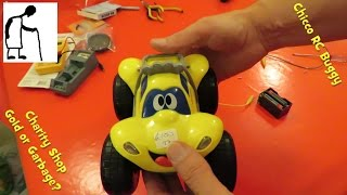 Charity Shop Gold or Garbage? Chicco RC Buggy - Billy Big Wheels