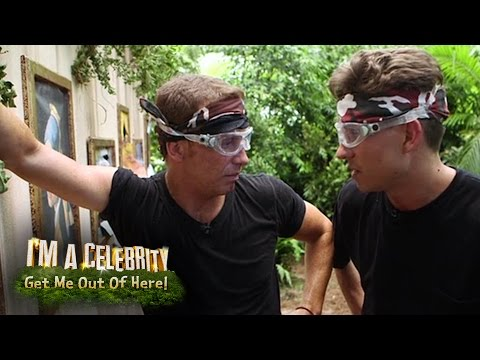 Joey Essex And Joe Swash Take On The Grim Gallery | I'm A Celebrity...Get Me Out Of Here!
