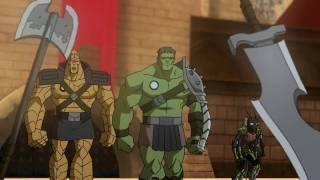 Planet Hulk Trailer HD
