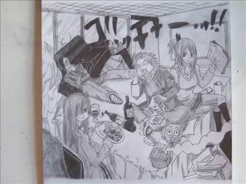 Team Natsu Drawing Drawing Team Natsu Fairy