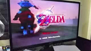 The Legend of Zelda Ocarina of Time Teste Pós Venda