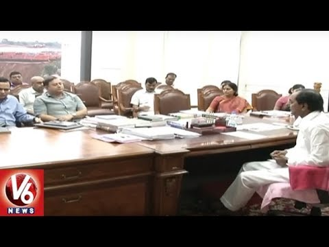 CM KCR Serious On Revenue Officials Over Irregularities In Rythu Bandhu Scheme | V6 News
