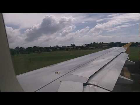 Tiger Airways A320: Take Off - Mactan International Airport, Cebu