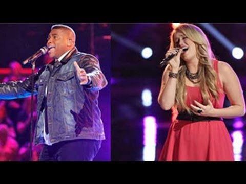 The Voice Season 6 (USA) : Top 12 - T J Wilkins And Dani Moz Get ELIMINATED