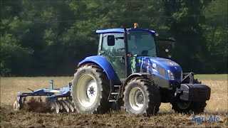 Discatura 2015. New Holland T5.105 & Fontana