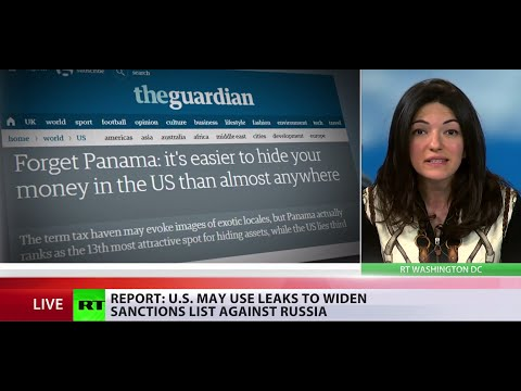 Panama Papers: US may use leaks to widen sanctions list against Russia