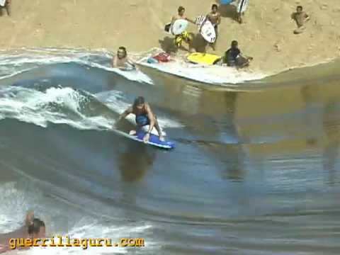 Waimea River Standing Wave Surf Session