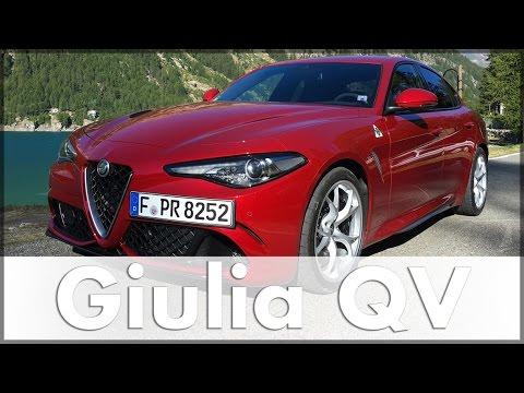 Alfa Romeo Giulia 2016 Quadrifoglio | Test | Fahrbericht | Auto | Deutsch