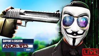 🔴I'm Back! 60FPS iPhone// 700+wins// Fortnite Mobile!// Use Code Anon-Wes 🔴
