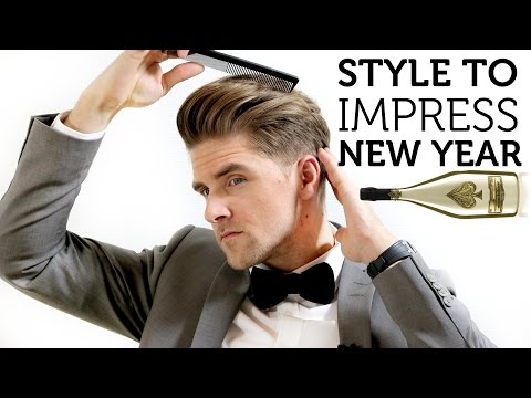 Men's Hair Inspiration for New Year 2015 | Style to Impress | Simple How to Guide
