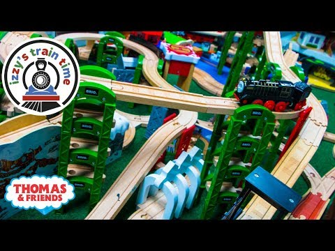 Thomas and Friends | ELEVATED TRACK WITH THOMAS TRAIN | Fun Toy Trains for Kids with Brio