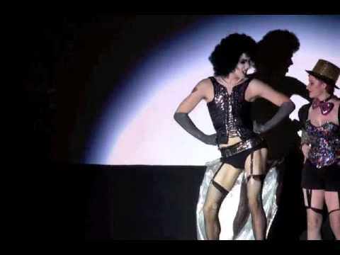 RHPS Clip 2 Nick Schaefer as Dr. Frankenfurter.