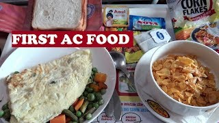 1st AC Food Thiruvananthapuram | Longest Rajdhani
