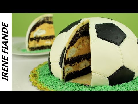 """Незабываемый сюрприз для мужчин! Торт """" Сникерс"""" Футбольный мяч - сплошное наслаждение!"""