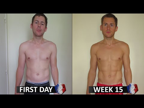 MY 15 WEEKS BODY TRANSFORMATION with FREELETICS (France)