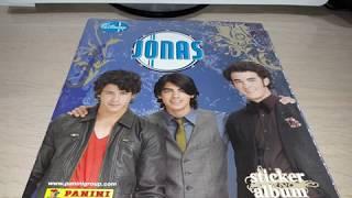 Panini 2009 COMPLETE Disney Jonas Brothers sticker album review.