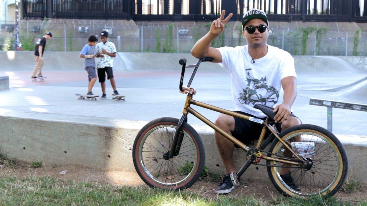 Bike Tricks Youtube BMX Bike Tricks with Francisco