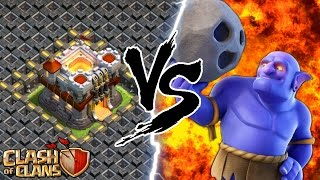"""THE BOWLER"" vs TOWN HALL 11!! Clash Of Clans Insane Gameplay! Update 2016!"