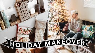 CHRISTMAS ROOM MAKEOVER - Decorate with Me (Aesthetic + Affordable) // Lone Fox