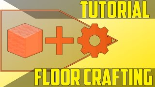 Floor Custom Crafting with Commands - Minecraft Command Block Tutorial [1.11][1.10][1.9]