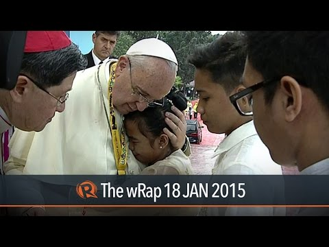 Pope Francis' with youth, Luneta mass, network shutdown | The wRap