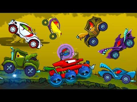 Машина ест машину Хищные машины Car Eats Car #18 мультик игра для детей про тачки #МАШИНКИ КИДА