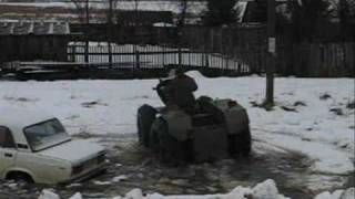Репортаж о вездеходах в Пожве \ homemade ATV \ meanwhile in Russia