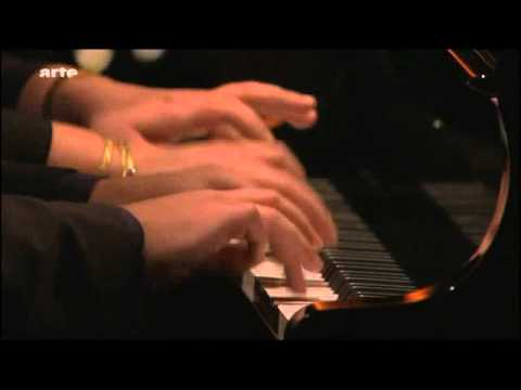 Brigitte Engerer and Boris Berezovsky play Liszt Hungarian Rhapsody No. 2 on Arte