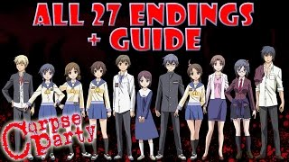 Corpse Party ALL 27 Endings + Guide (All Chapter Endings)