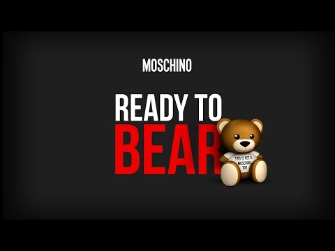 Ready to bear! Moschino F/W15 capsule collection!